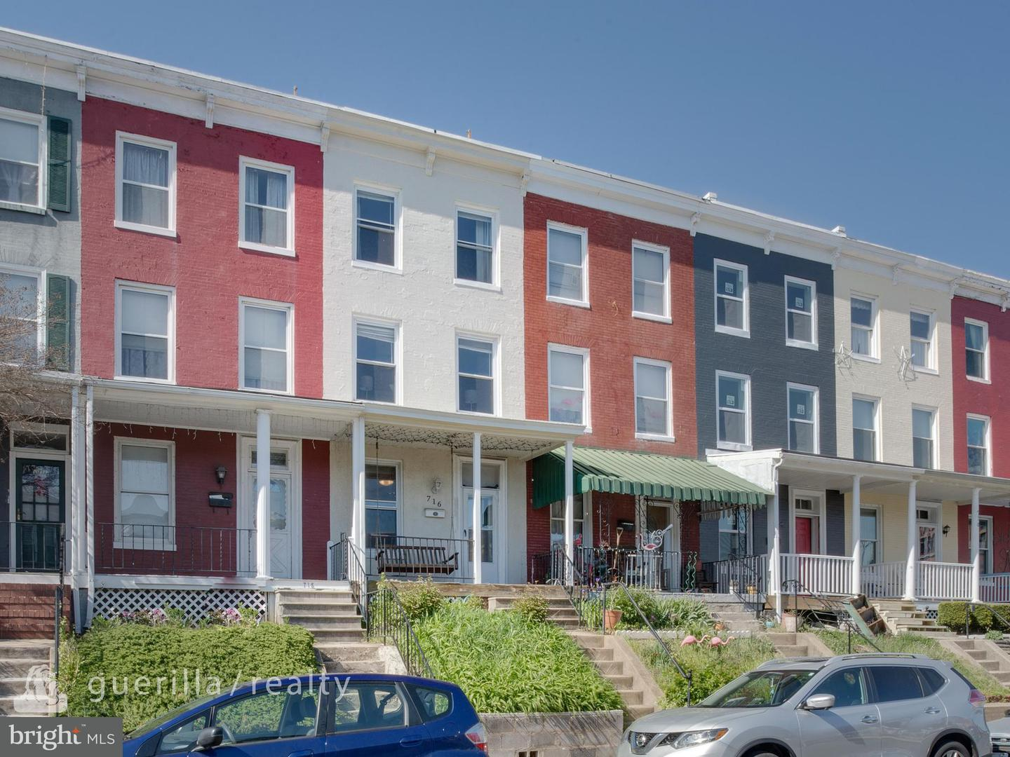Single Family for Sale at 716 34th St Baltimore, Maryland 21211 United States