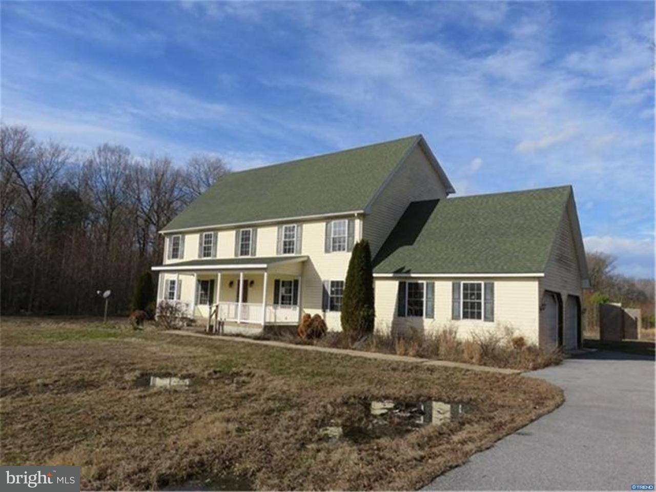 Maison unifamiliale pour l Vente à 12921 LIGHTHOUSE Lane Greenwood, Delaware 19950 États-Unis