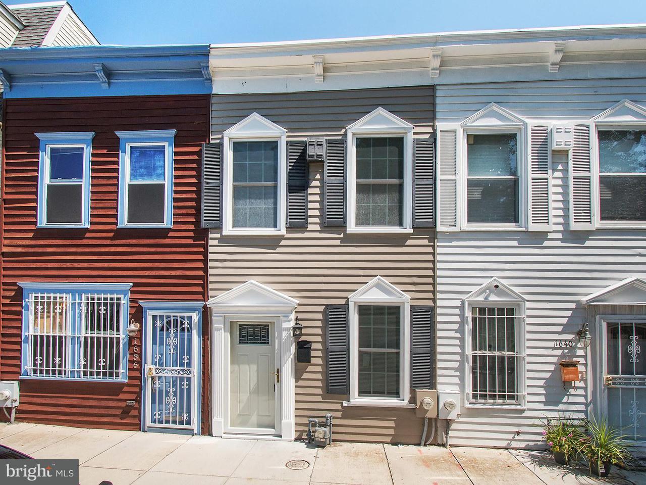 Townhouse for Sale at 1638 Kramer St Ne 1638 Kramer St Ne Washington, District Of Columbia 20002 United States