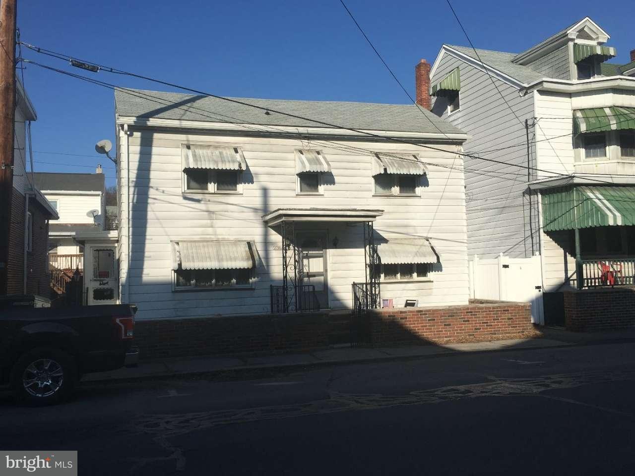 Частный односемейный дом для того Продажа на 236 NORTH Street Minersville, Пенсильвания 17954 Соединенные Штаты