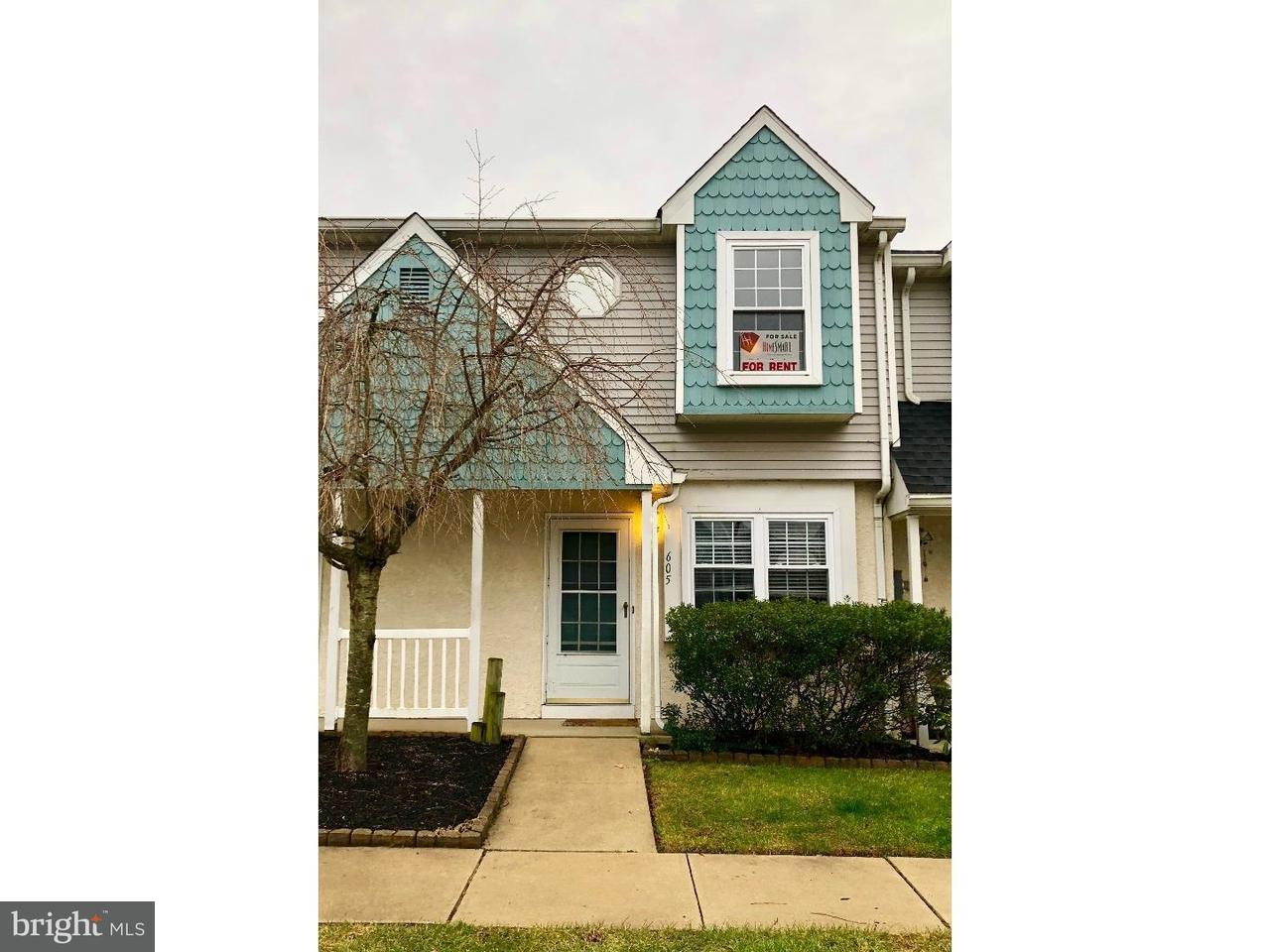 Townhouse for Rent at 605 HARTLAND Court Sewell, New Jersey 08080 United States