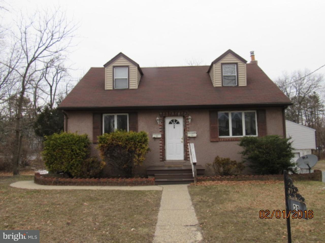 Частный односемейный дом для того Аренда на 29 E OAK AVE #B Lawnside, Нью-Джерси 08045 Соединенные Штаты