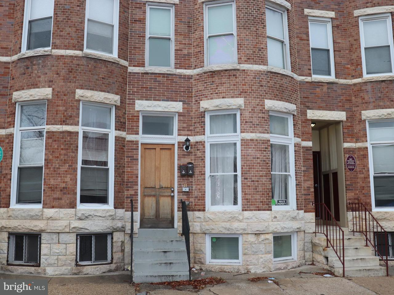 Other Residential for Rent at 1806 Guilford Ave #b Baltimore, Maryland 21202 United States