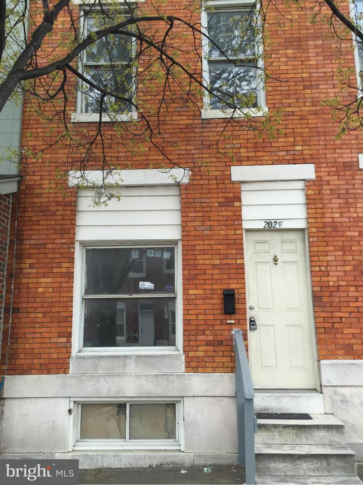 Photo of home for sale at 202 Ellwood Avenue, Baltimore MD