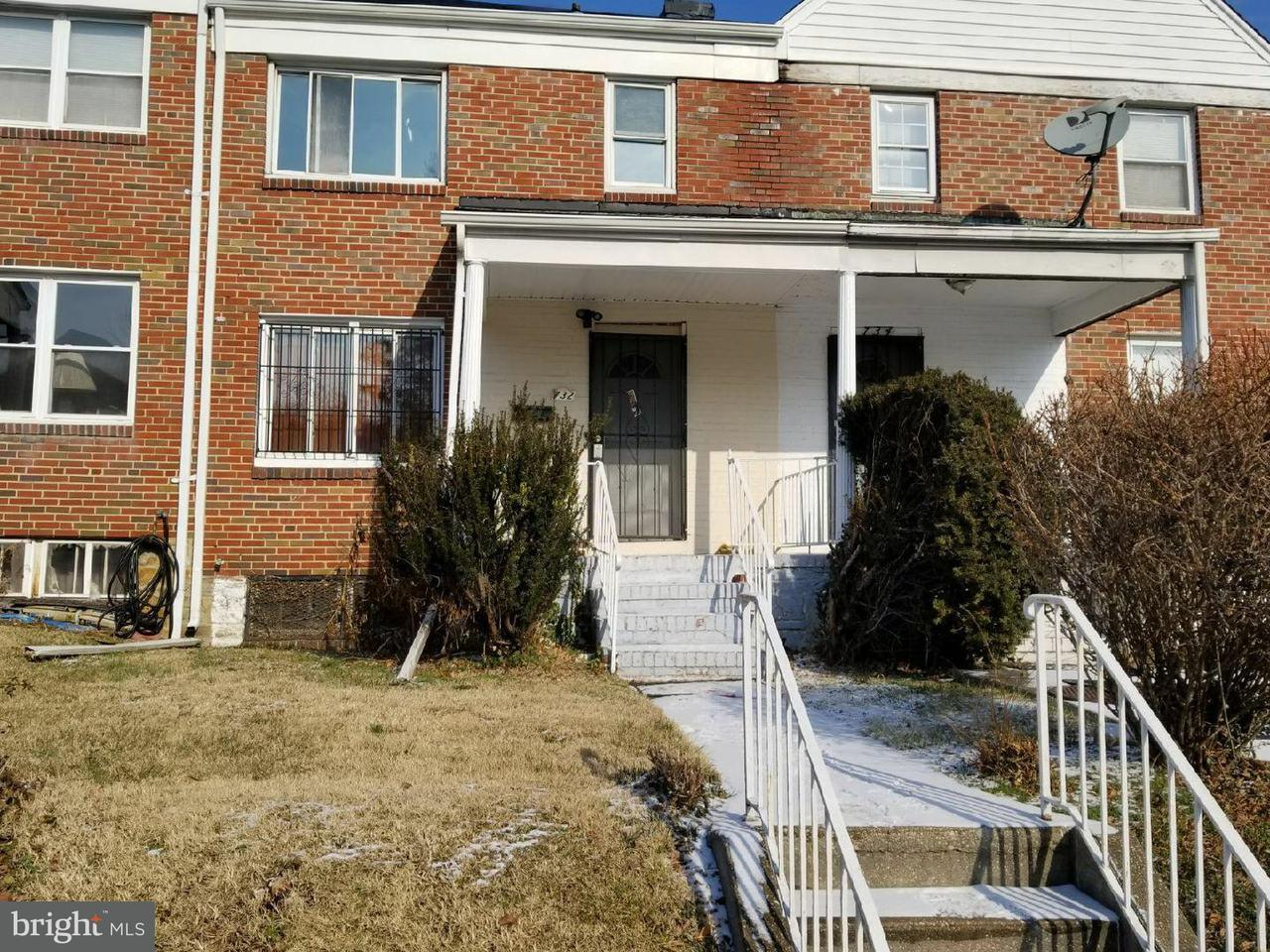 Single Family for Sale at 732 E Cold Spring Ln Baltimore, Maryland 21212 United States