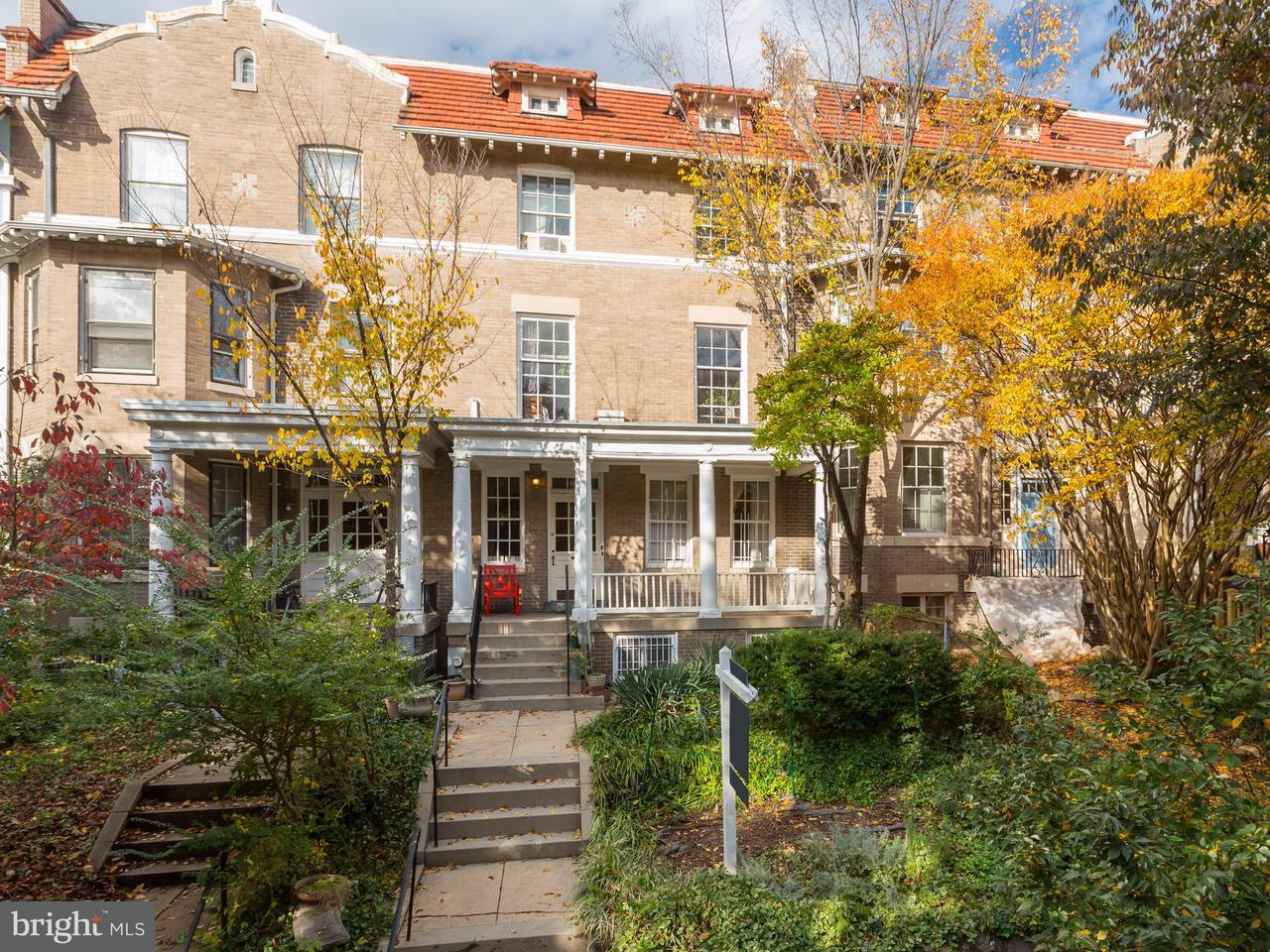 Single Family for Sale at 1835 Lamont St NW Washington, District Of Columbia 20010 United States
