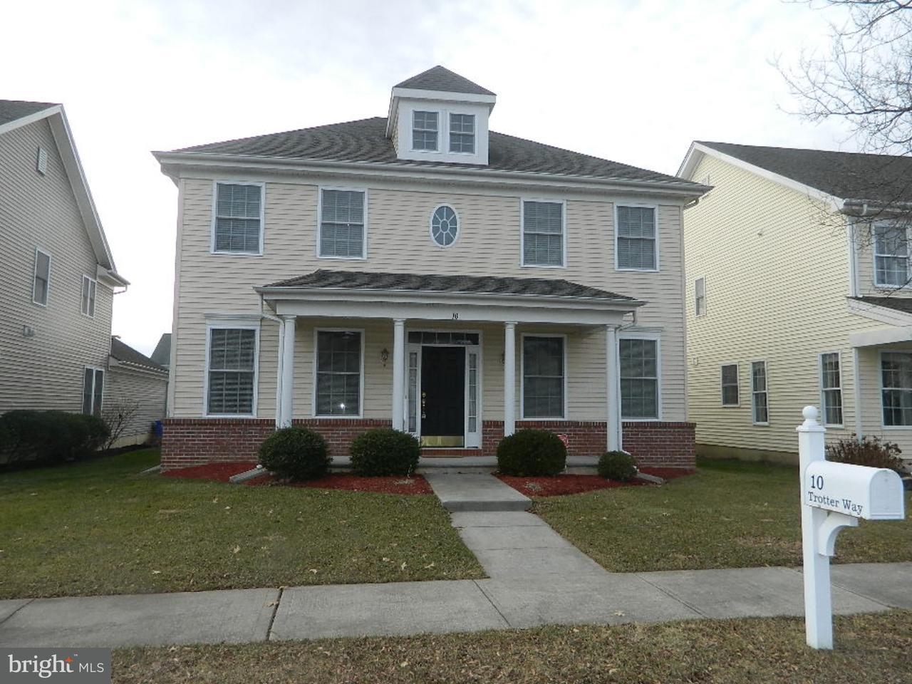 Частный односемейный дом для того Продажа на 10 TROTTER WAY Crosswicks, Нью-Джерси 08515 Соединенные ШтатыВ/Около: Chesterfield Township