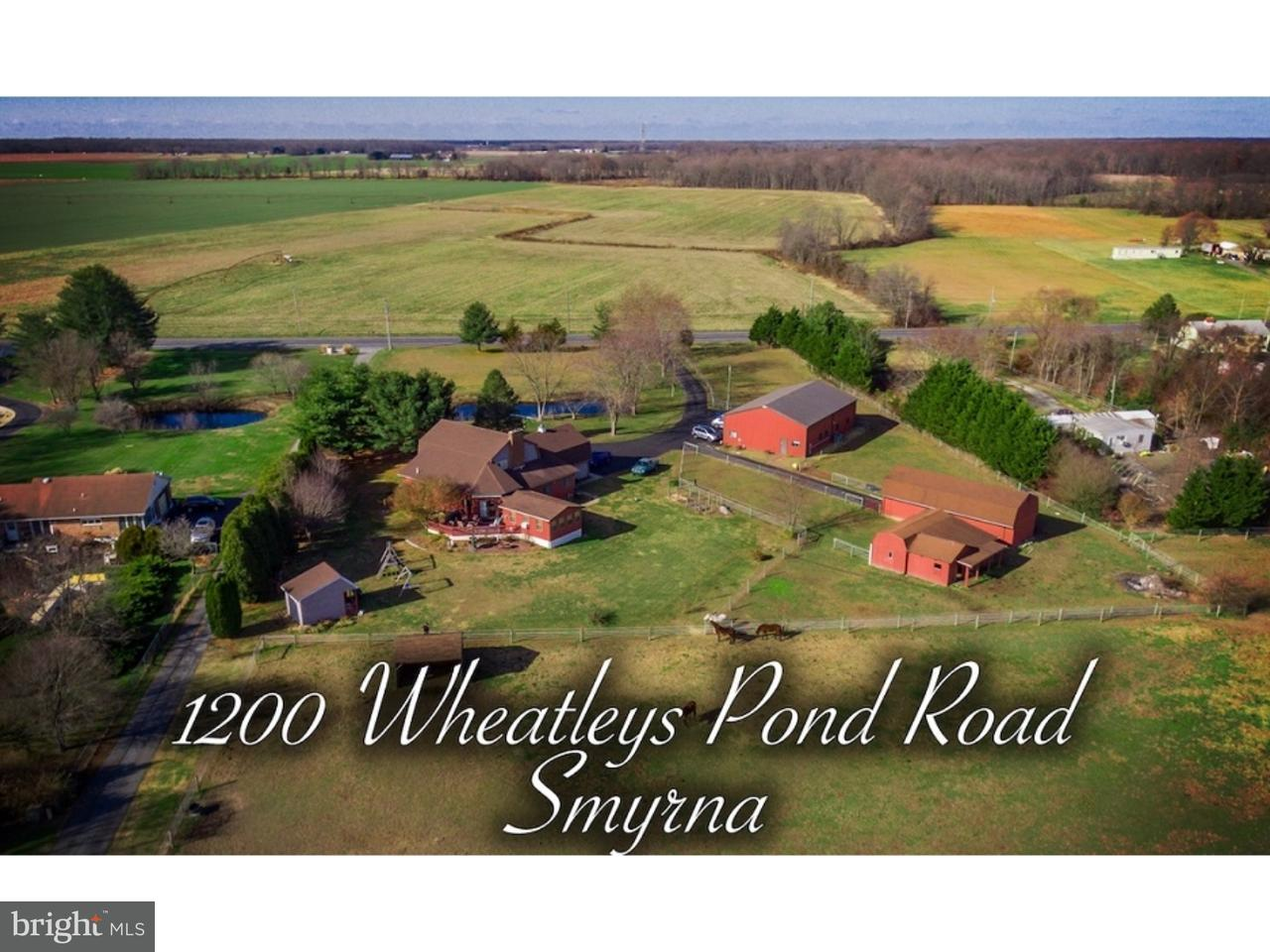 Single Family Home for Sale at 1200 WHEATLEYS POND Road Smyrna, Delaware 19977 United States
