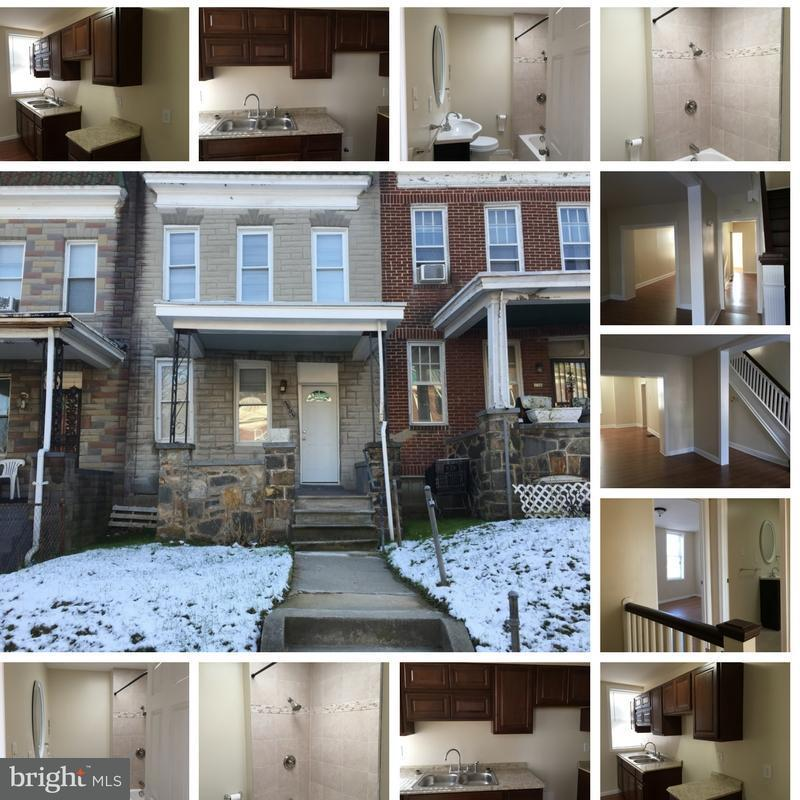 Other Residential for Rent at 2805 Presbury St Baltimore, Maryland 21216 United States