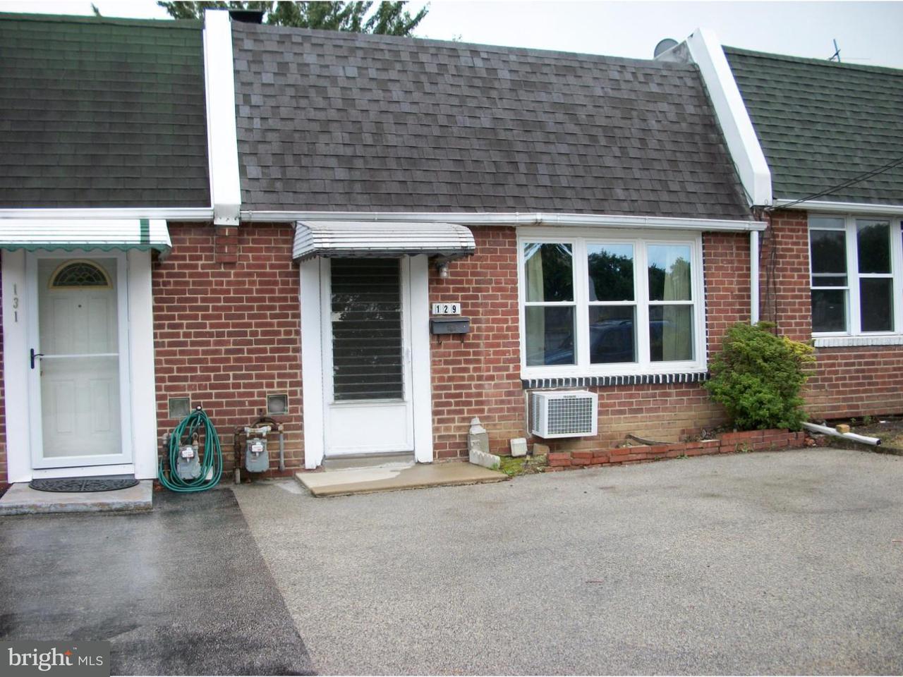 Townhouse for Sale at 129 E LAUGHEAD Avenue Linwood, Pennsylvania 19061 United States