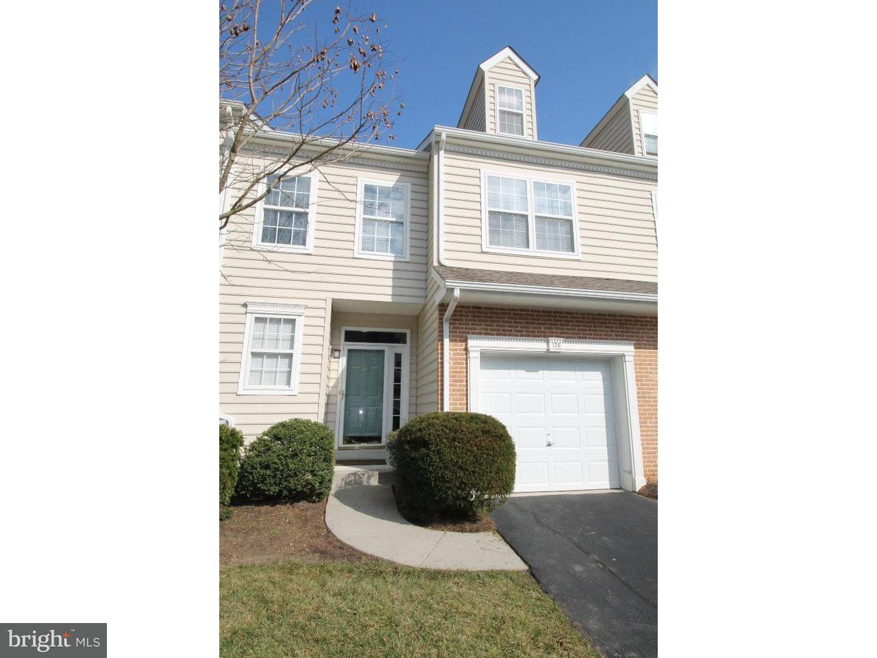 Townhouse for Rent at 126 FEDERAL WALK Kennett Square, Pennsylvania 19348 United States
