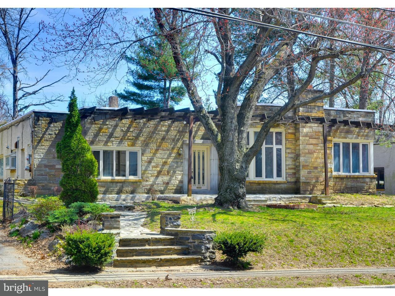 Частный односемейный дом для того Аренда на 249 HAVERFORD Road Wynnewood, Пенсильвания 19096 Соединенные Штаты