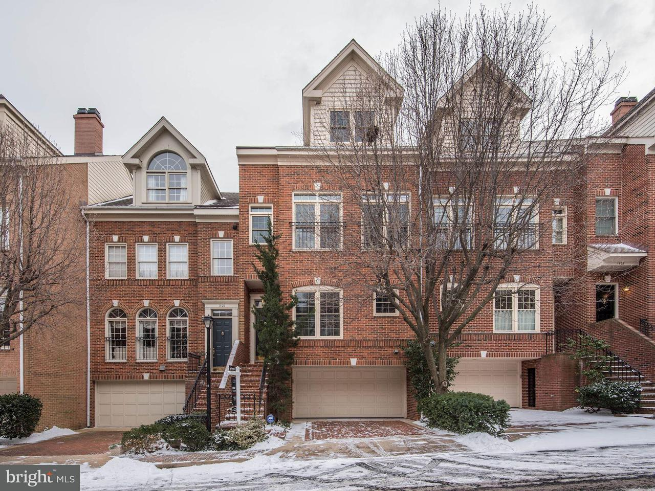 Townhouse for Sale at 1524 Colonial Ct N 1524 Colonial Ct N Arlington, Virginia 22209 United States