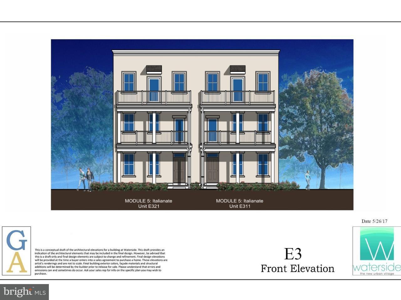 Townhouse for Sale at E311 DOCK ST #E311 Bensalem, Pennsylvania 19020 United States