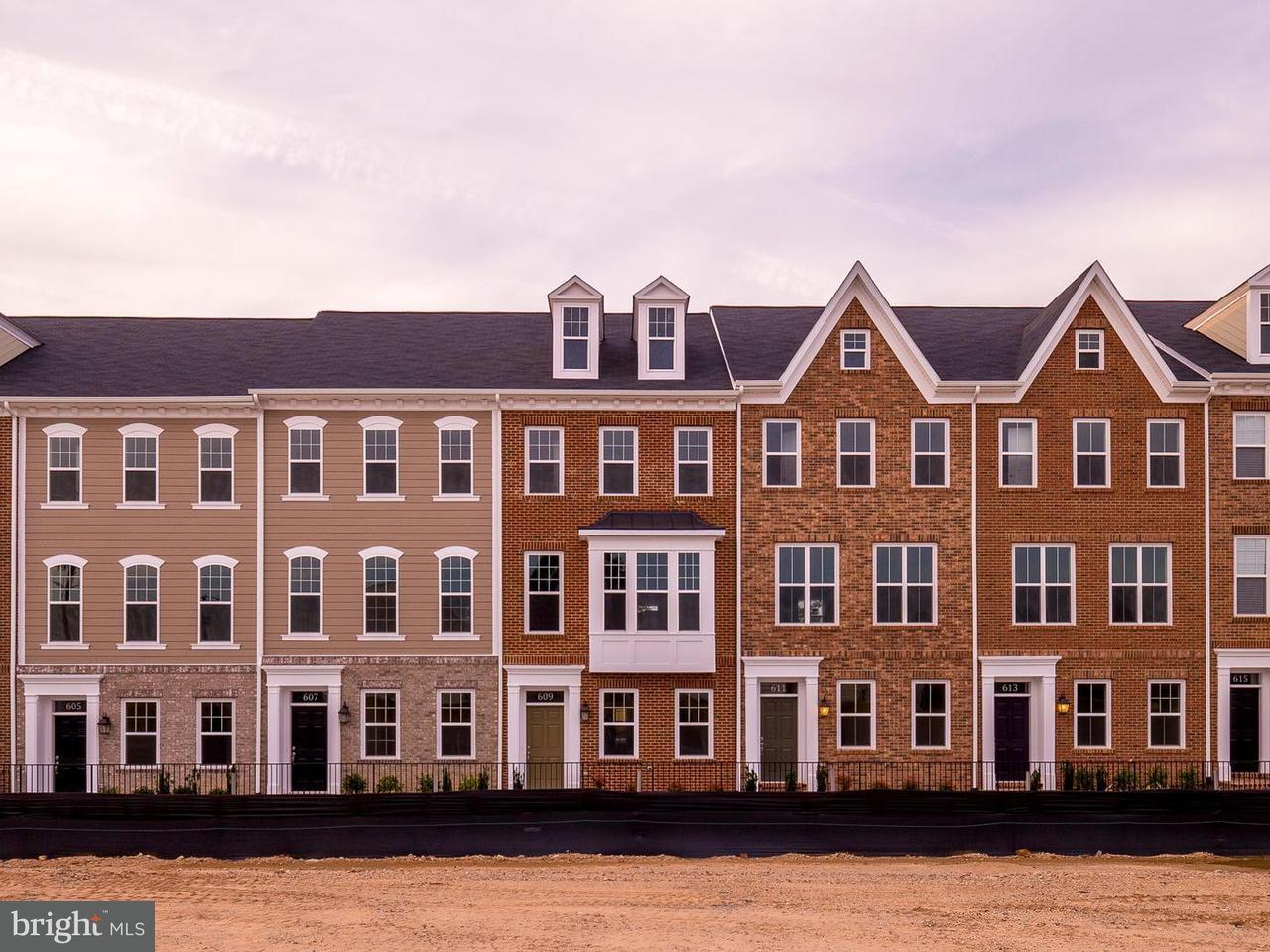 Casa unifamiliar adosada (Townhouse) por un Venta en Totten Mews Ne Totten Mews Ne Washington, Distrito De Columbia 20017 Estados Unidos