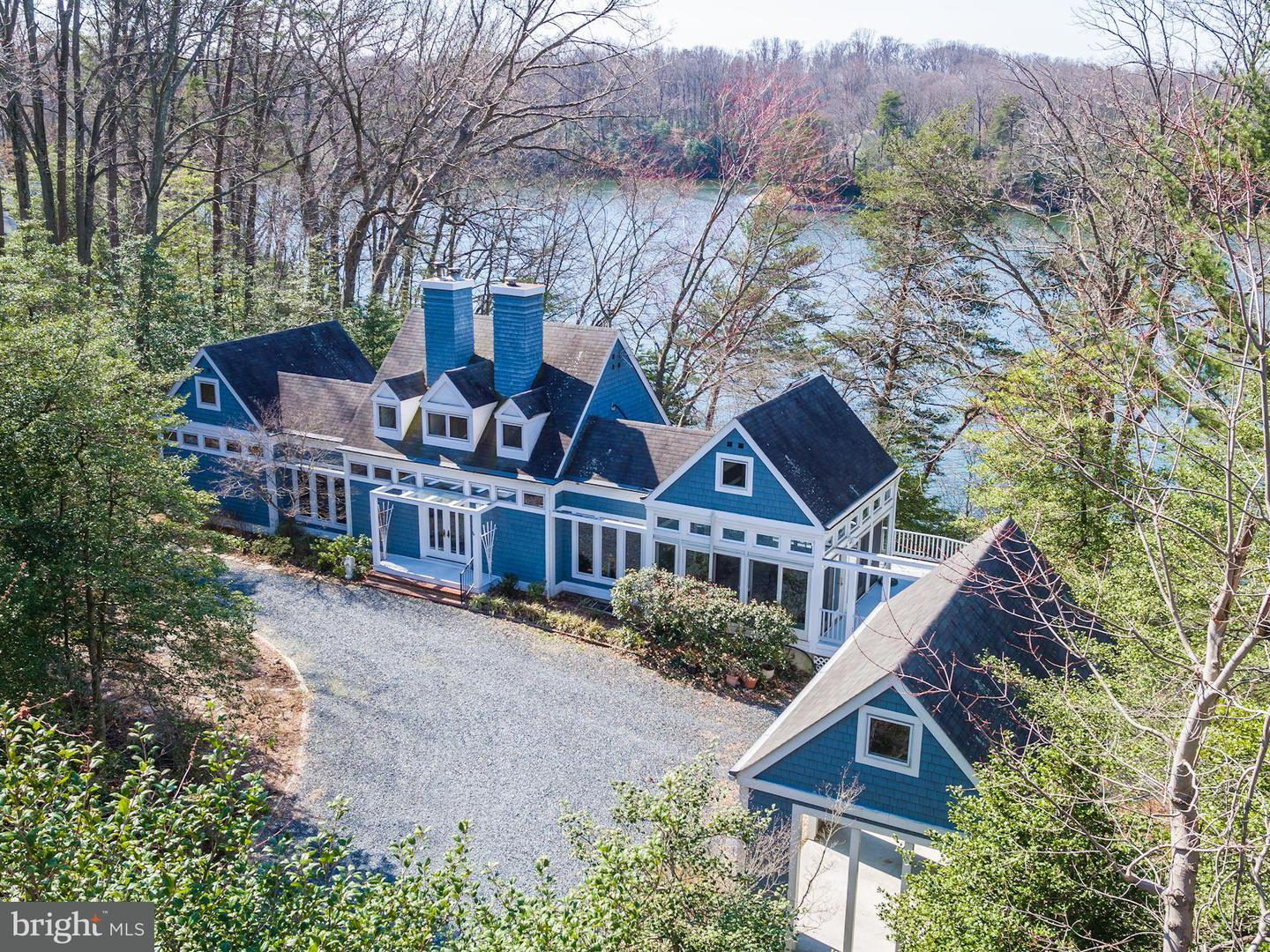 Single Family for Sale at 614 Stillwater Rd Gibson Island, Maryland 21056 United States