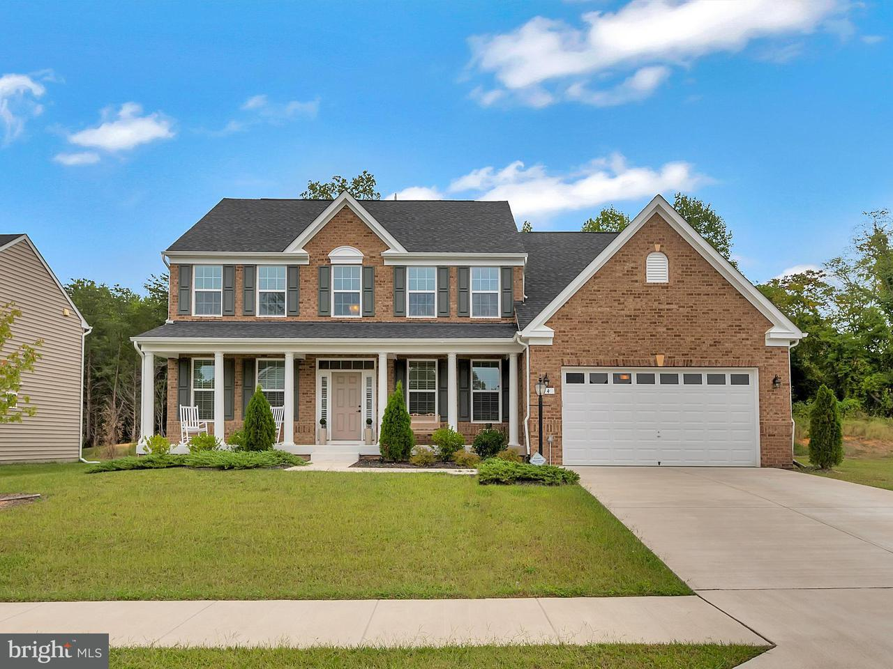 Single Family for Sale at 14 Liberty Knolls Dr Stafford, Virginia 22554 United States