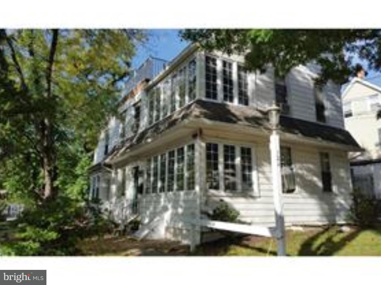 Maison unifamiliale pour l à louer à 124 POTTER ST #FRONT Haddonfield, New Jersey 08033 États-Unis