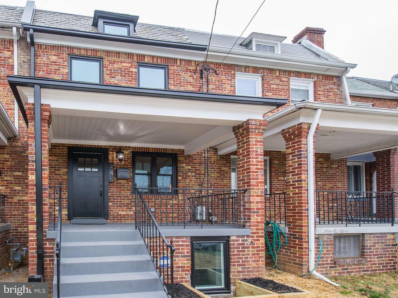 Single Family for Sale at 245 Ingraham St NW Washington, District Of Columbia 20011 United States