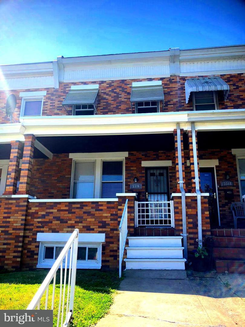 Other Residential for Rent at 3316 Parklawn Ave Baltimore, Maryland 21213 United States