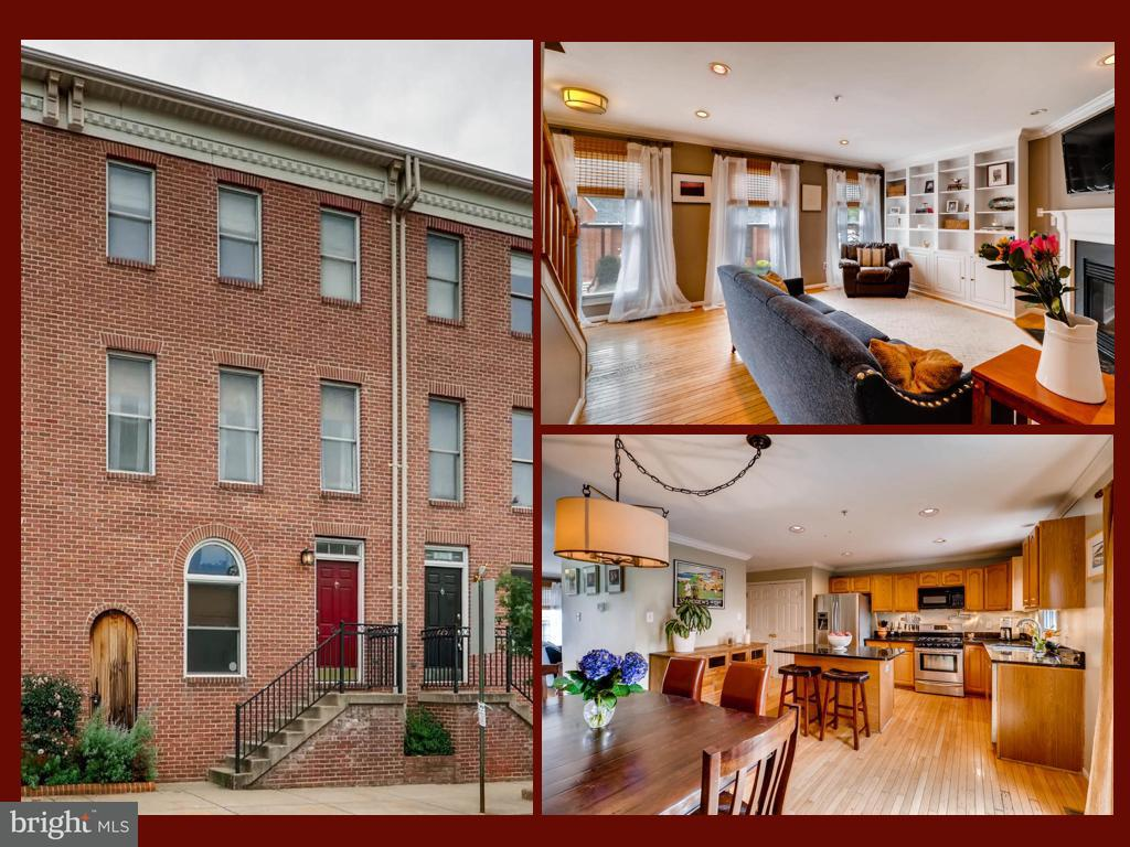 Single Family for Sale at 823 Hanover St Baltimore, Maryland 21230 United States