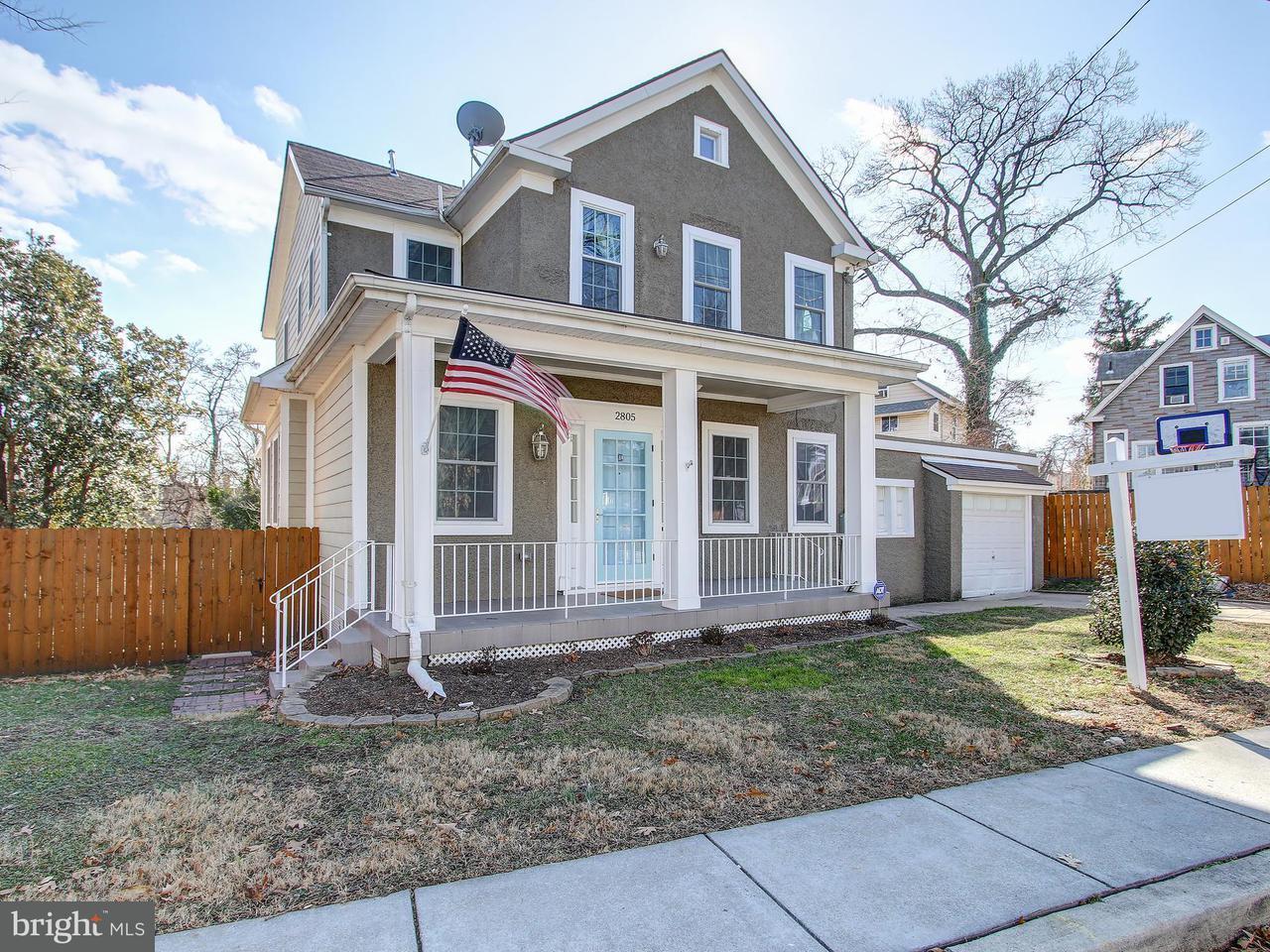 Eensgezinswoning voor Verkoop een t 2805 Brentwood Rd Ne 2805 Brentwood Rd Ne Washington, District Of Columbia 20018 Verenigde Staten