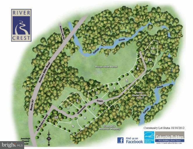 Land for Sale at 15415 Rivercrest Ct Brookeville, Maryland 20833 United States