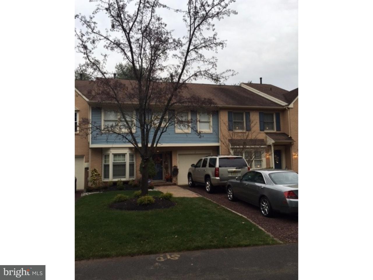 Casa unifamiliar adosada (Townhouse) por un Alquiler en 3 MAJESTIC WAY Marlton, Nueva Jersey 08053 Estados Unidos