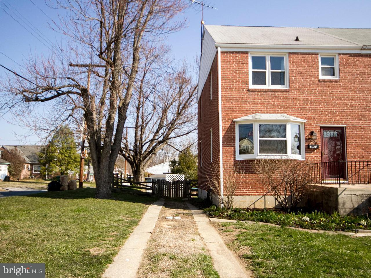 Single Family for Sale at 4000 Overlea Ave Baltimore, Maryland 21206 United States