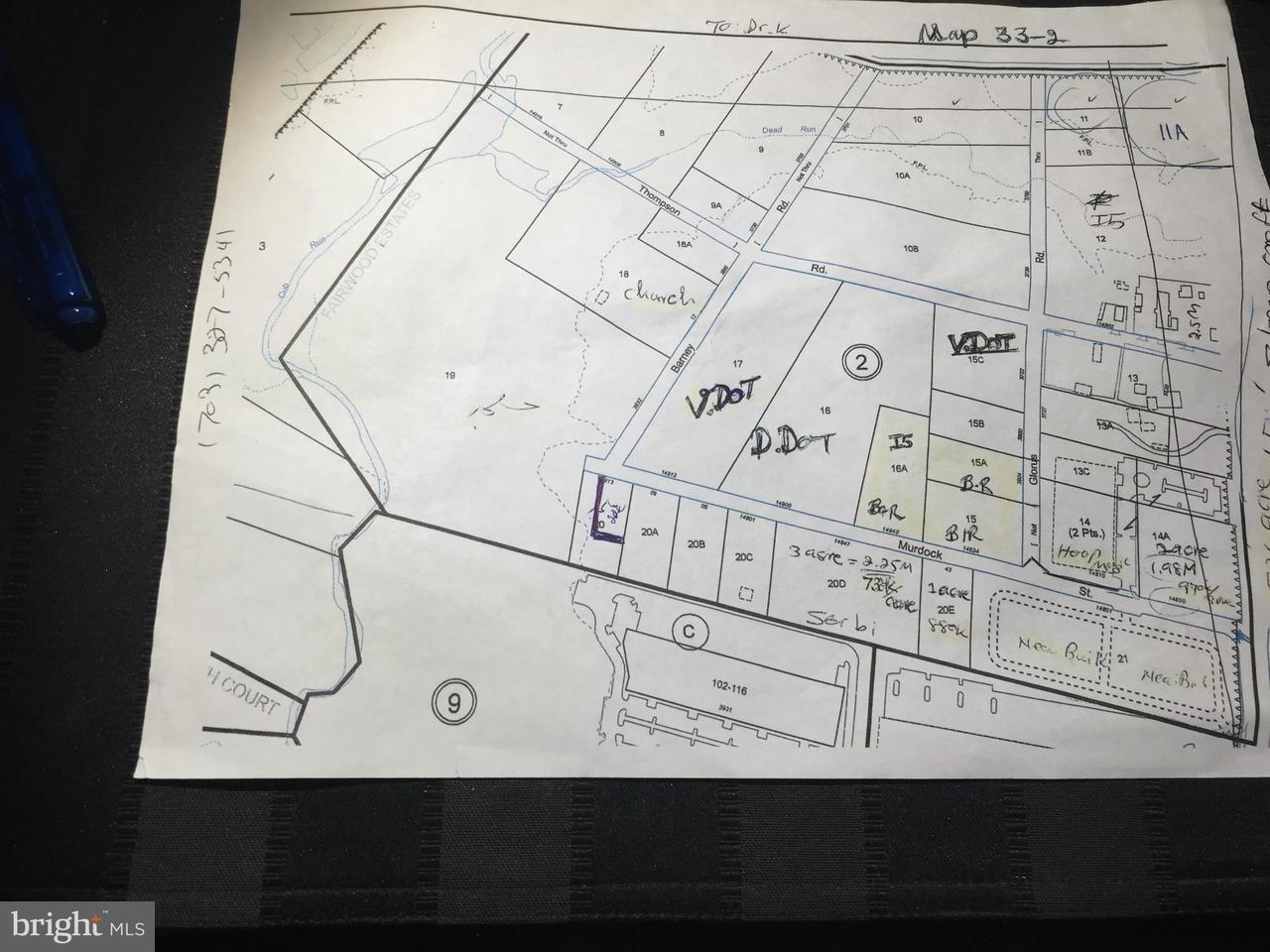 Земля для того Продажа на 3612 Stonecroft Blvd Fairfax 3612 Stonecroft Blvd Fairfax Chantilly, Виргиния 20151 Соединенные Штаты