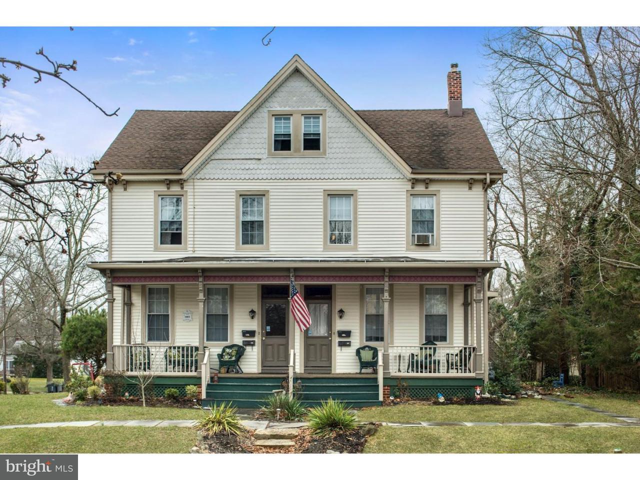 Casa Unifamiliar por un Venta en 108-110 E ELM Street Wenonah, Nueva Jersey 08090 Estados Unidos