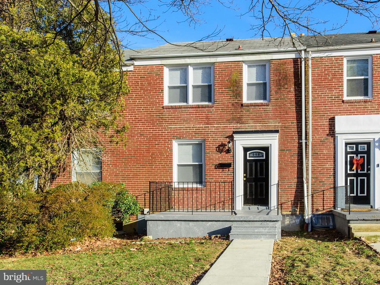 Single Family for Sale at 5507 The Alameda Baltimore, Maryland 21239 United States