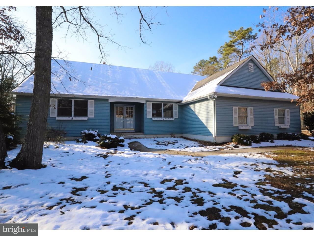 独户住宅 为 销售 在 443 PRICKETTS MILL Road Tabernacle, 新泽西州 08088 美国