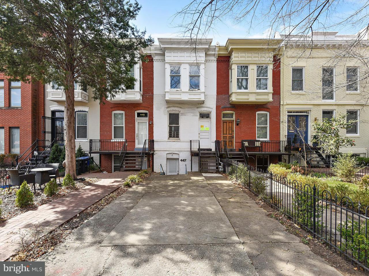 Single Family Home for Sale at 447 New Jersey Ave Se 447 New Jersey Ave Se Washington, District Of Columbia 20003 United States