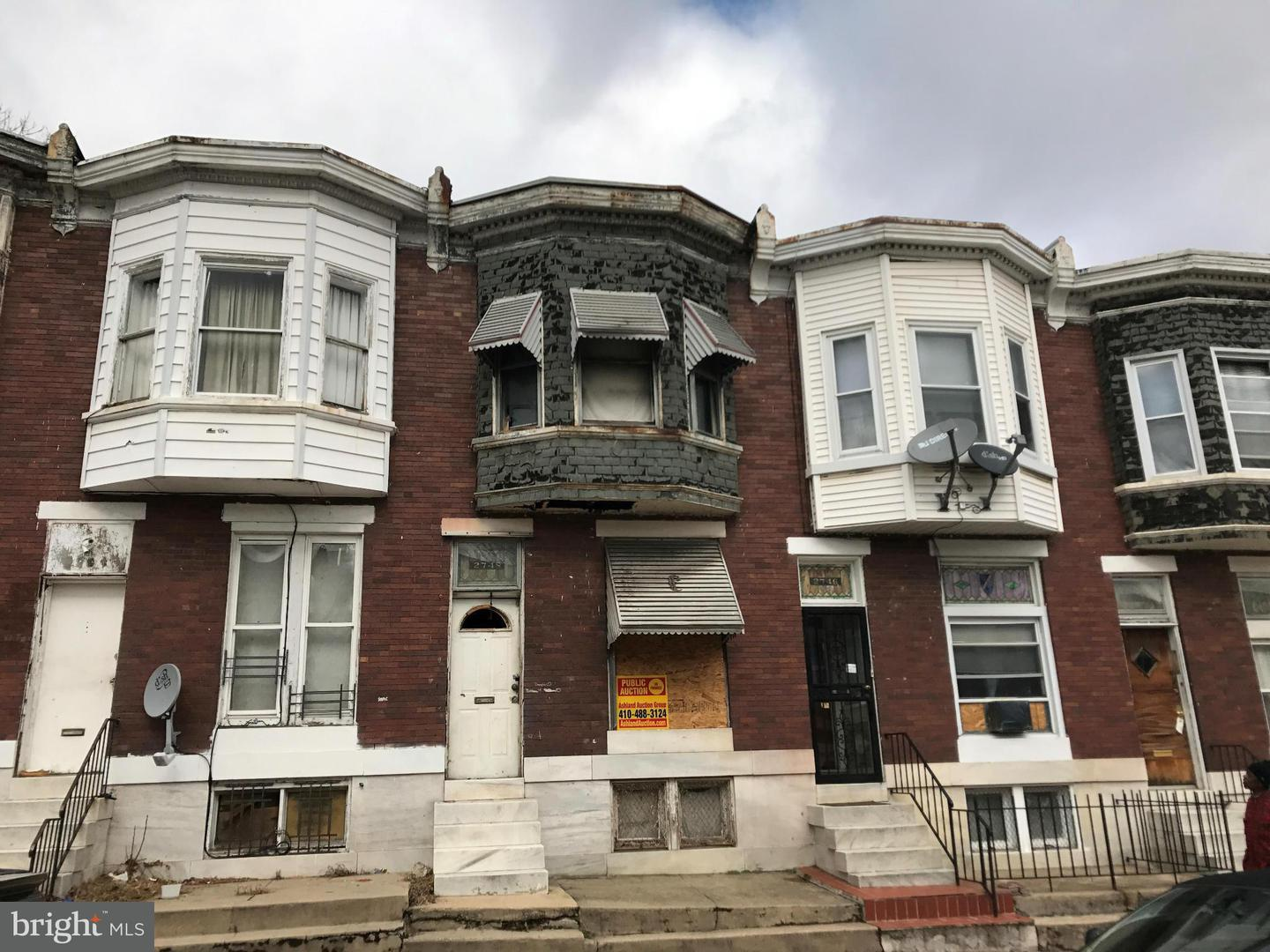 Single Family for Sale at 2748 Harlem Ave Baltimore, Maryland 21216 United States
