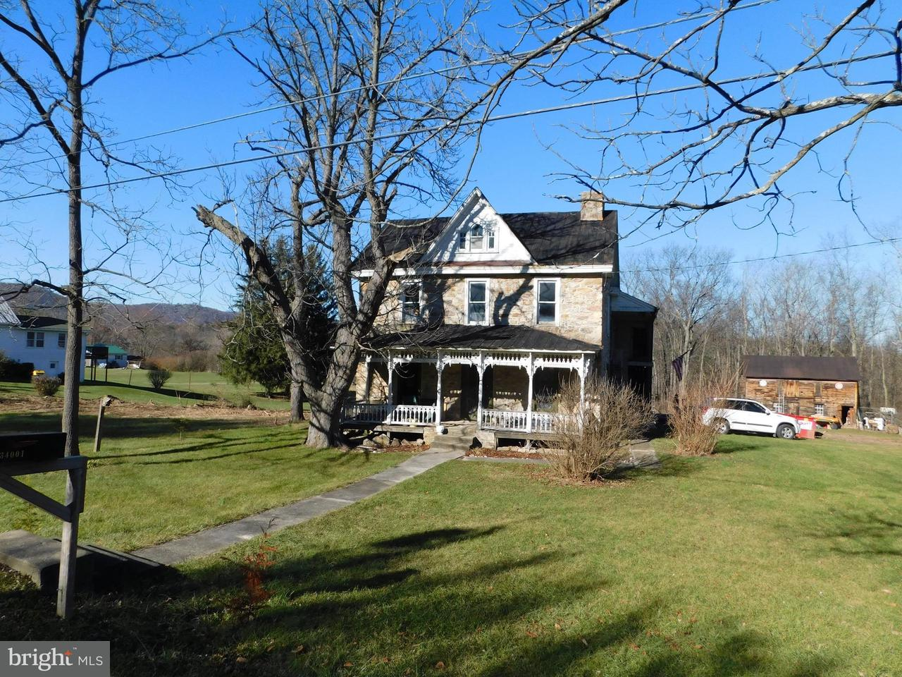 Single Family for Sale at 34001 Great Cove Rd Burnt Cabins, Pennsylvania 17215 United States