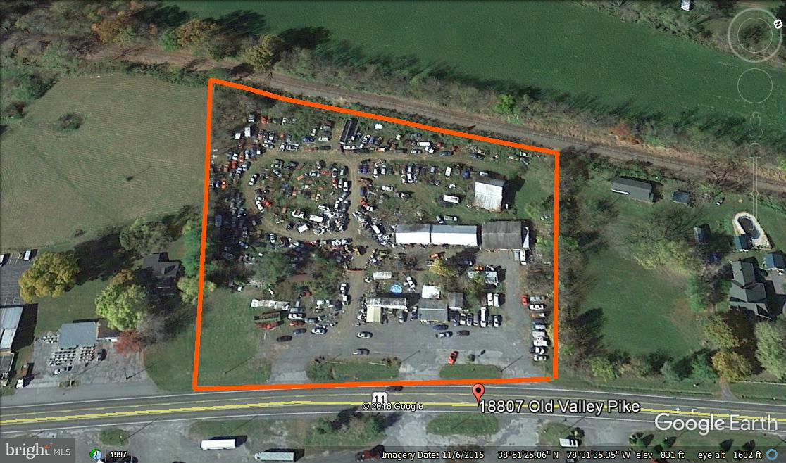 Commercial for Sale at 18807 Old Valley Pike Edinburg, Virginia 22824 United States