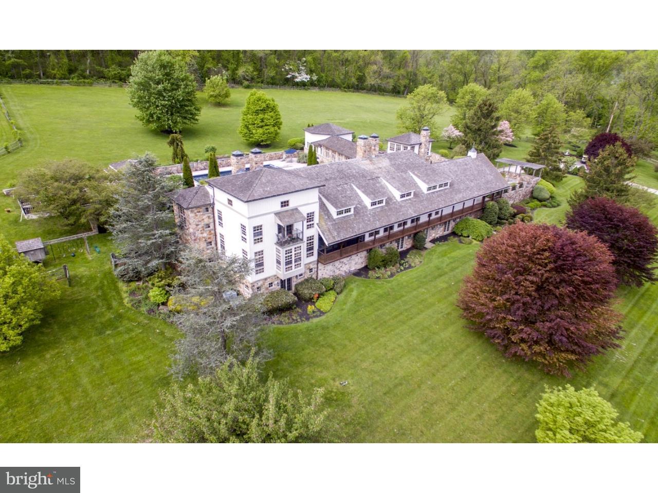 Maison unifamiliale pour l Vente à 1400 PRIZER Road Chester Springs, Pennsylvanie 19465 États-Unis