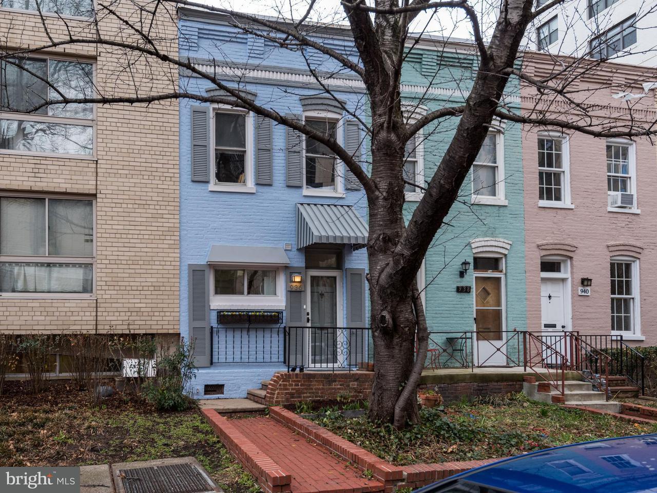 Частный односемейный дом для того Продажа на 936 24th St Nw 936 24th St Nw Washington, Округ Колумбия 20037 Соединенные Штаты