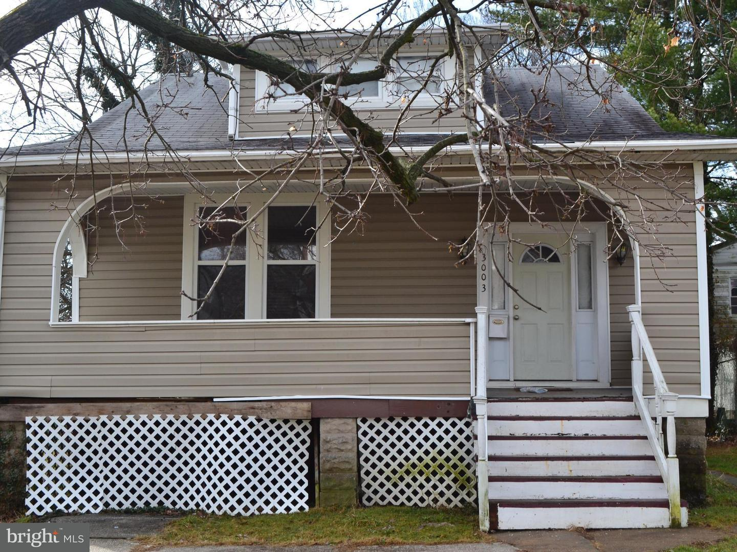 Single Family for Sale at 3003 Rosalind Ave Baltimore, Maryland 21215 United States