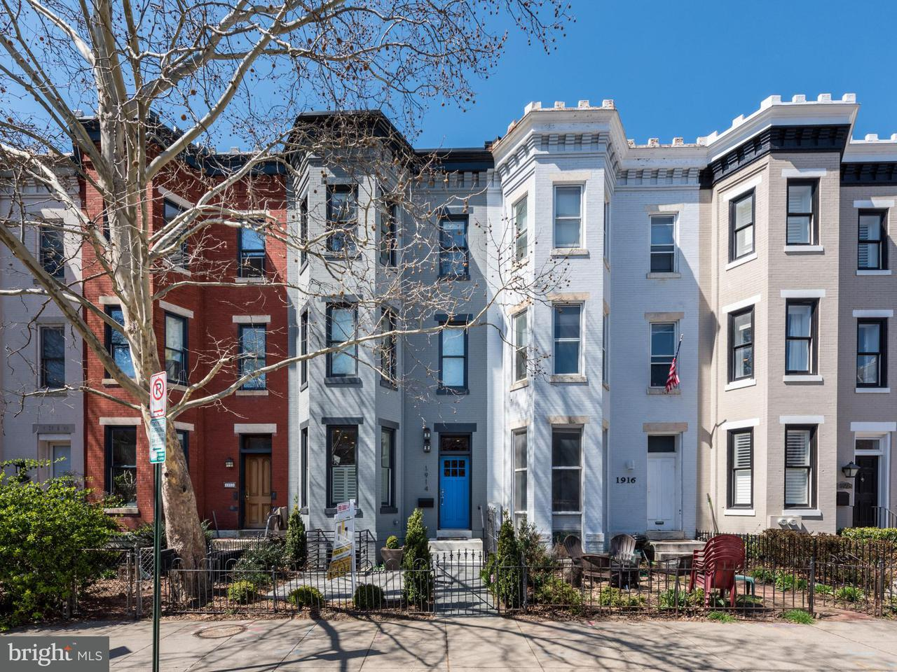 Single Family for Sale at 1914 15th St NW Washington, District Of Columbia 20009 United States