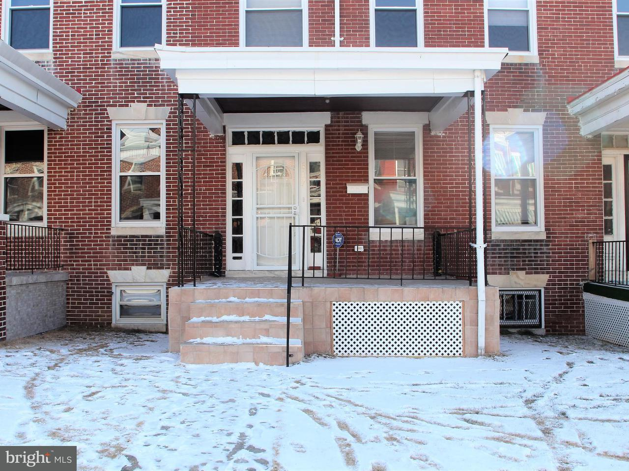 Single Family for Sale at 517 Lyndhurst St Baltimore, Maryland 21229 United States