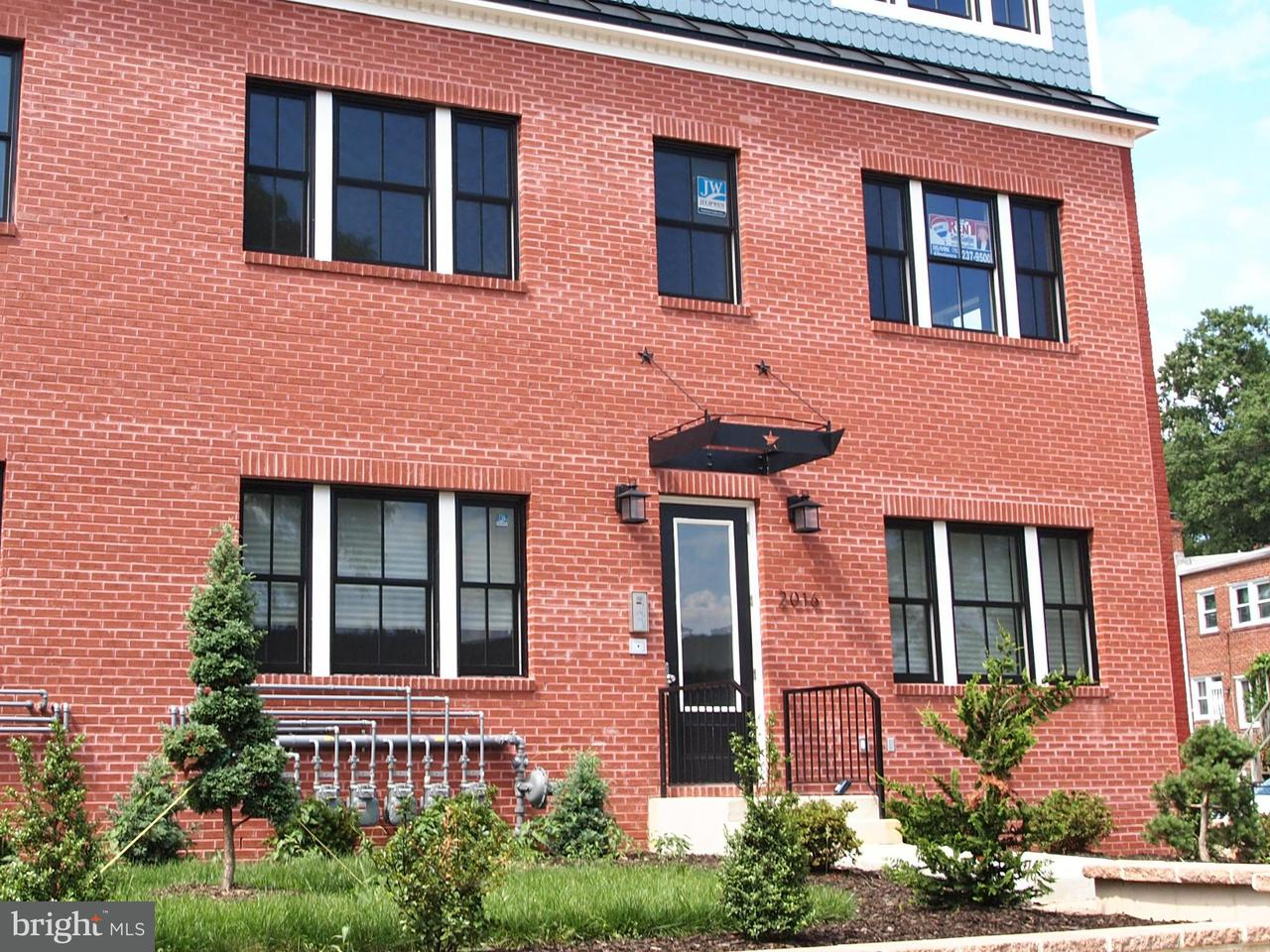 Condominium for Rent at 2016 D St NE #4 Washington, District Of Columbia 20002 United States