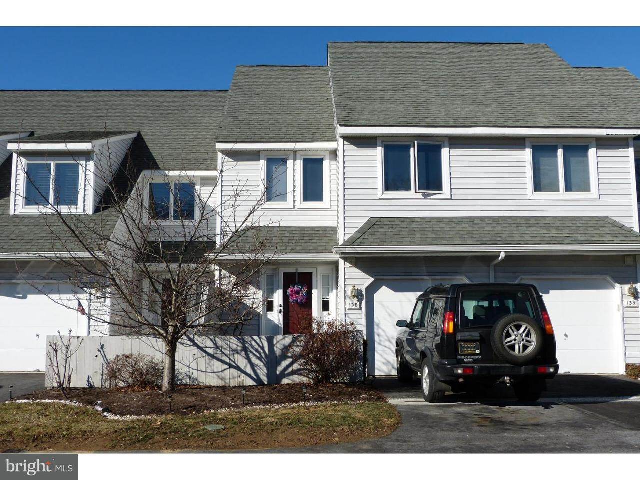 Townhouse for Rent at 138 W THOMAS Court Kennett Square, Pennsylvania 19348 United States