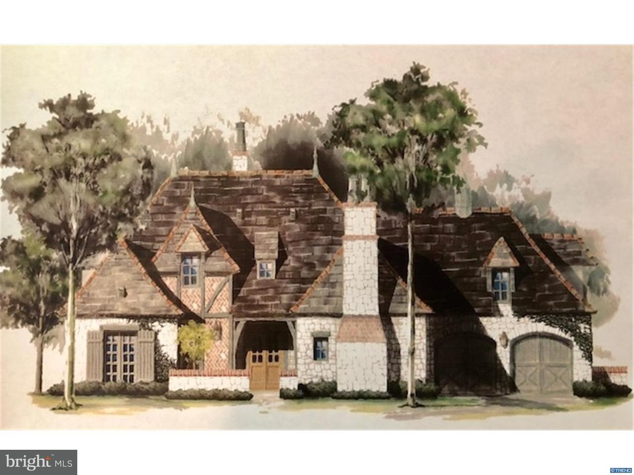 Частный односемейный дом для того Продажа на 404 MOSIE WAY Greenville, Делавэр 19807 Соединенные Штаты