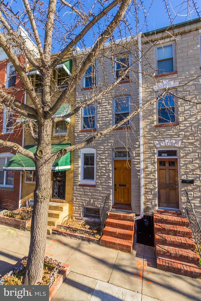 Single Family for Sale at 115 N Wolfe St Baltimore, Maryland 21231 United States