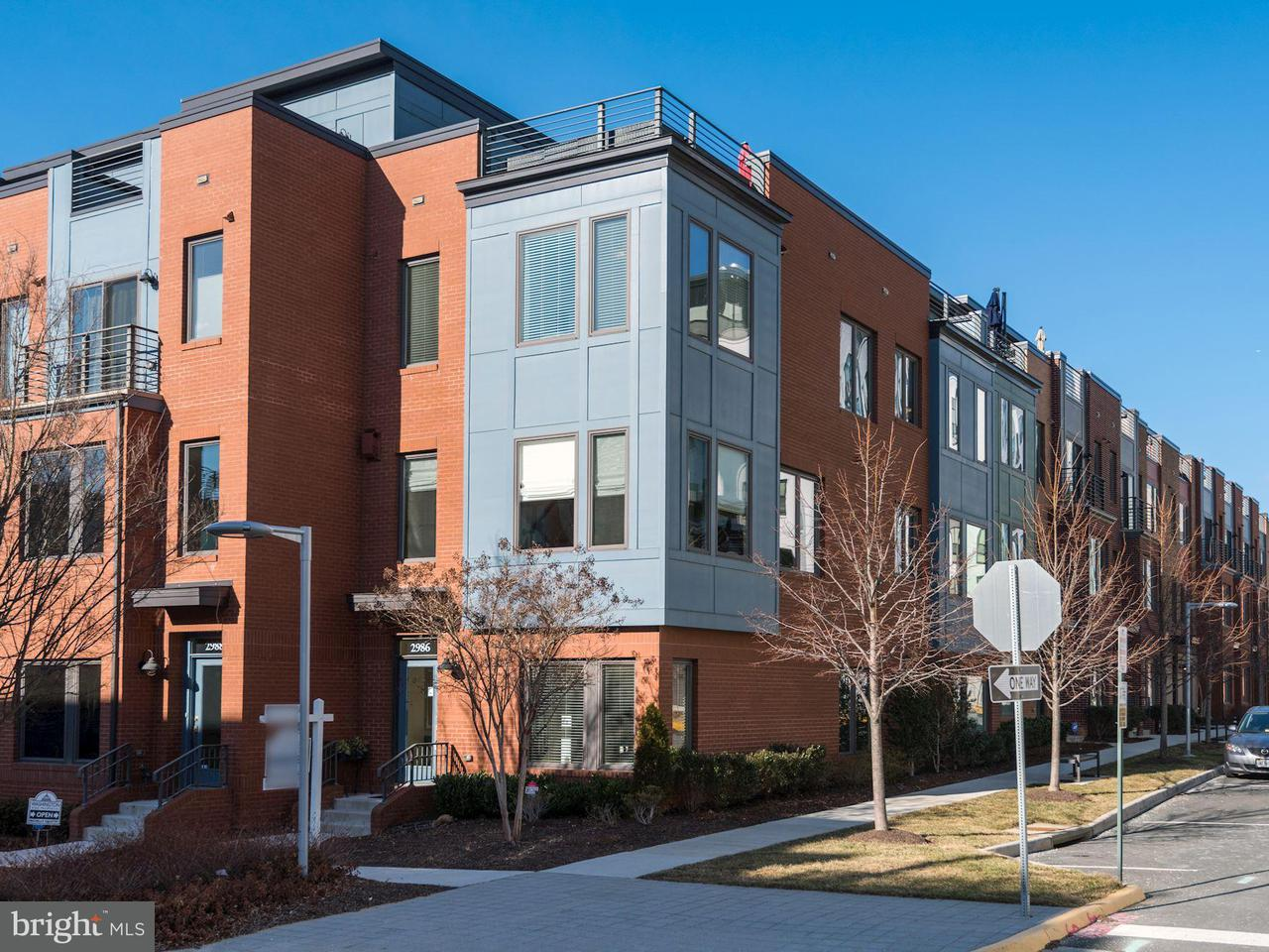 Townhouse for Sale at 2986 District Avenue 2986 District Avenue Fairfax, Virginia 22031 United States