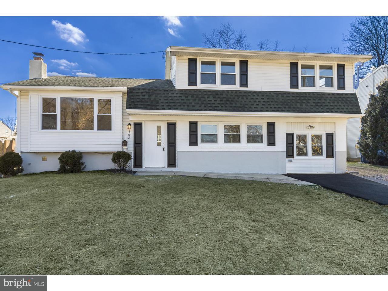 Maison unifamiliale pour l Vente à 402 CARDINAL Road Beverly, New Jersey 08010 États-Unis