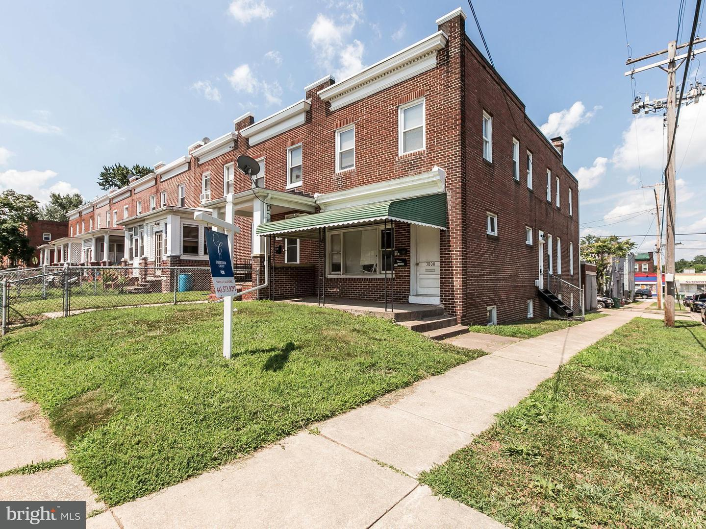 Single Family for Sale at 3800 2nd St Baltimore, Maryland 21225 United States