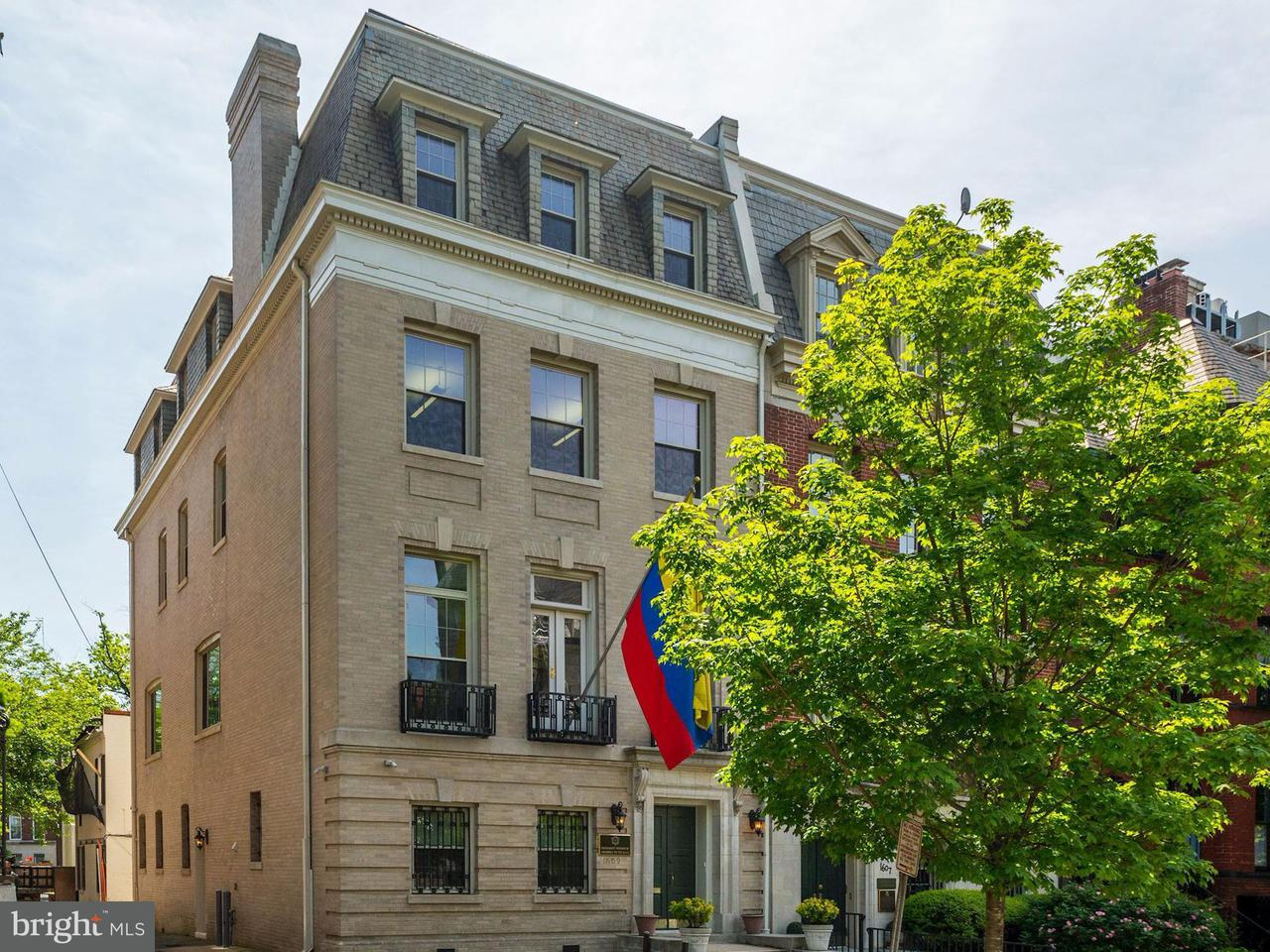 Single Family for Sale at 1609 22nd St NW Washington, District Of Columbia 20008 United States